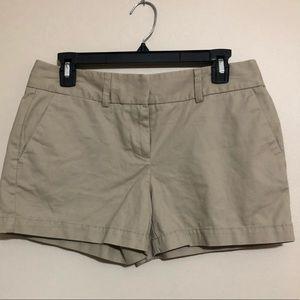 """New Ann Taylor Loft 4"""" Khaki shorts"""